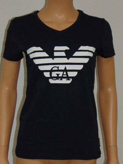 EMPORIO ARMANI LOGO Navy dames T-shirt
