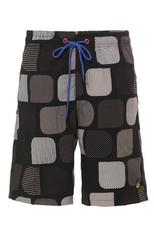 SHIWI KIDS MODERN Black/Grey short