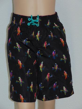 SHIWI KIDS PARROT Black/Print short