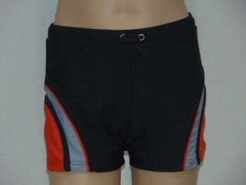 SHIWI KIDS OVAL Grey/Orange Short