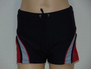 SHIWI KIDS OVAL Navy/Red Short
