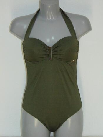 SAPPH BEACH RIVIERA Swimsuit Khaki