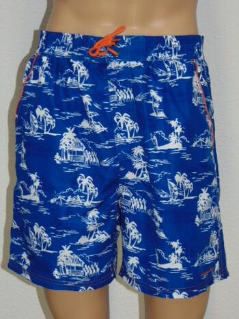NICKEY NOBEL MEN LEONARDO Blue Swimshort