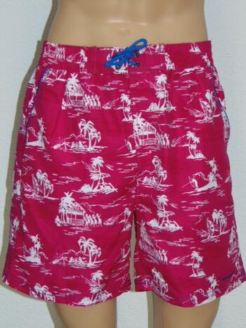 NICKEY NOBEL MEN LEONARDO Pink Swimshort