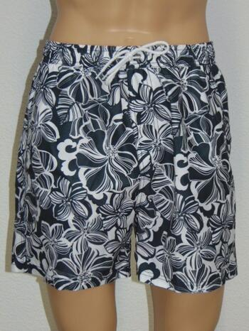 NICKEY NOBEL MEN GEORGE White/Grey swimshort