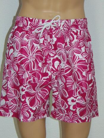 NICKEY NOBEL MEN GEORGE White/Pink swimshort