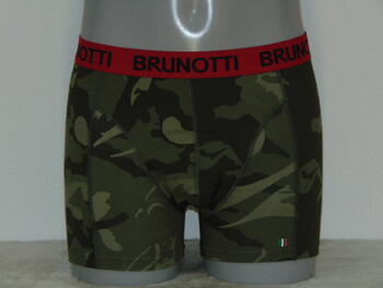BRUNOTTI MEN Khaki print short (BRU53)