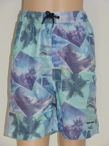 NICKEY NOBEL MEN SAMPLES ROBBY Purple/Print swimshort