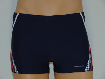 NICKEY NOBEL MEN SAMPLES ELMAL Navy/White swimshort