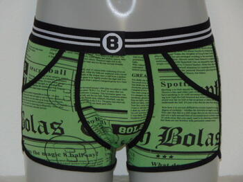BOLAS MEN HEADLINES Green short