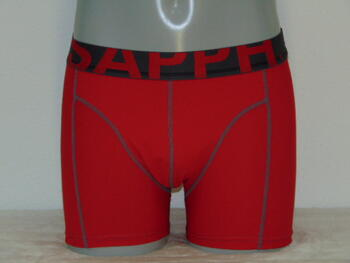 SAPPH MEN MEES Red/Grey micro short