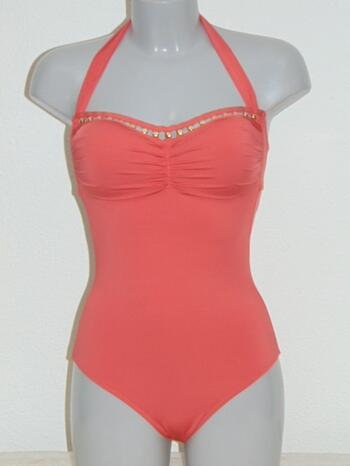 KD SAPPH SA CALETA Orange swimsuit