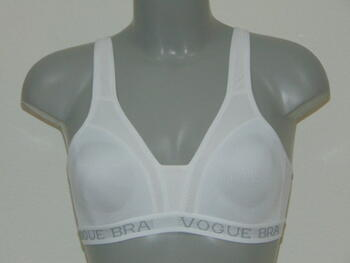 VOGUE White Sport Bra