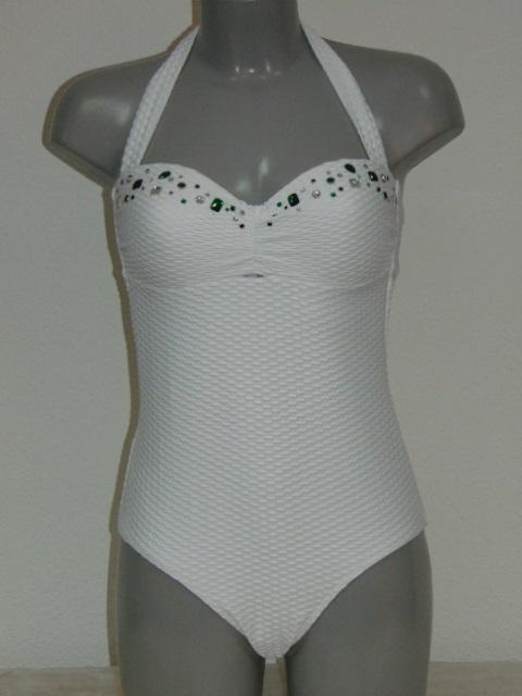 Wit Badpak.Sapph Beach Bliss White Swimsuit Sapph Dutch Designers Outlet