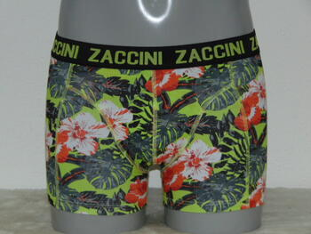 ZACCINI LEAVES Yellow/Grey short
