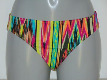 SAPPH BEACH SAMPLES HAWAI Lime/Print High Brief
