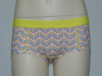 BOOBS & BLOOMERS WEAVY Pink Zig zag print Boxer
