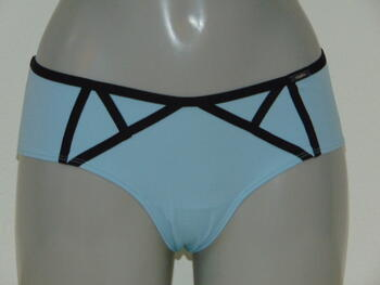 SAPPH MISTRESS Blue / Black Short