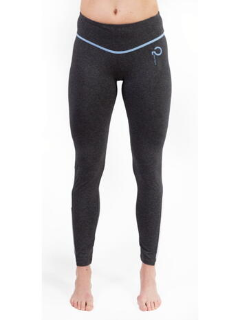 Q-LINN BARCELONA Antracite/Blue Performance Tight