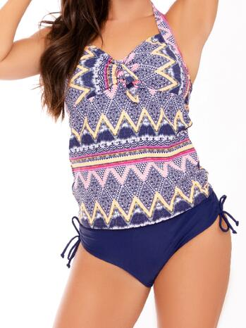 Nickey Nobel Jennifer Navy Tankini