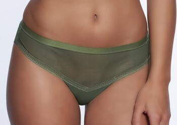 AFTER EDEN ESMA Army green short