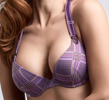 MARLIES DEKKERS GLORIA Rhapsody purple pus-up bh