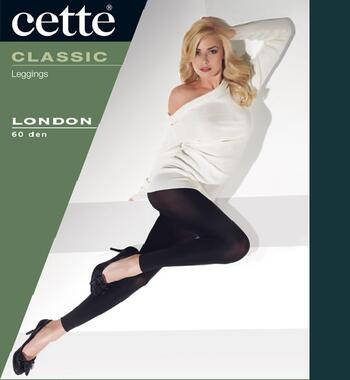 CETTE LONDON Blue-Black Legging