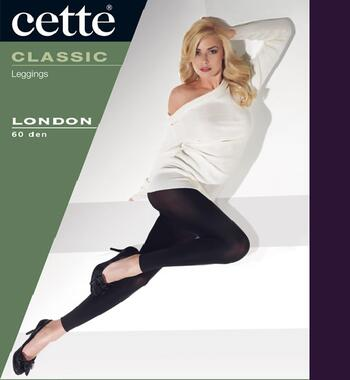 CETTE LONDON Purple Black Legging