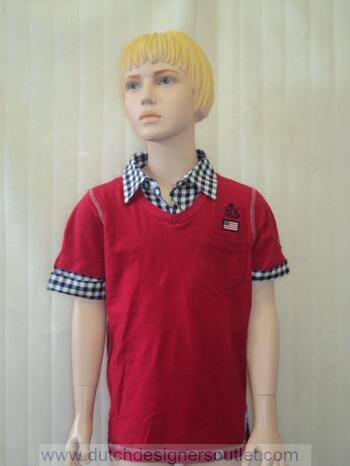 RLJ BOYS THE WILHELM'S SHIRTTEE Cardinal Red